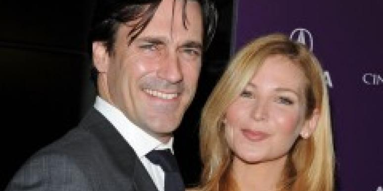 Jon Hamm and longtime girlfriend Jennifer Westfeldt