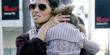 Halle Berry with her daughter, Nahla.