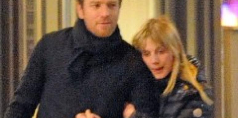 Ewan McGregor and Melanie Laurent