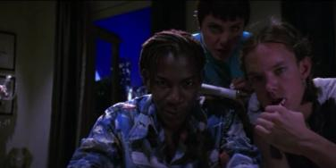 Scene from the movie Hackers