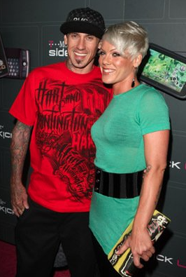 "Pink and Carey Hart - <a href=""http://www.imdb.com"">IMDB</a>"