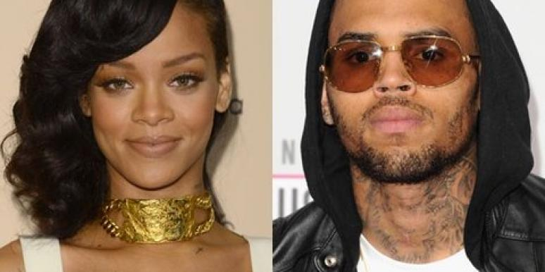 Rihanna and Chris Brown