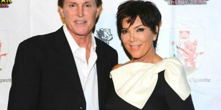 Why Bruce & Kris Jenner Are Holding Off On Their Divorce