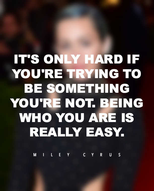 miley cyrus quote