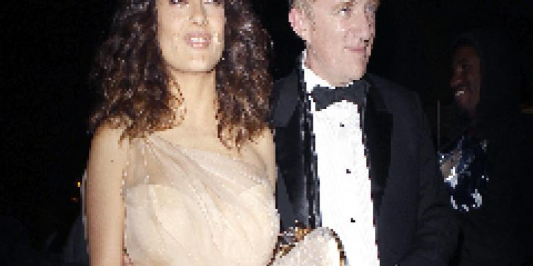 Salma Hayek and husband Francois-Henri Pinault