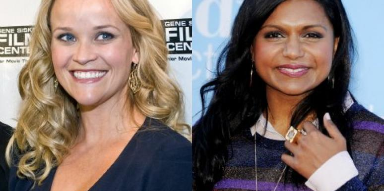 Mindy Kaling & Reese Witherspoon