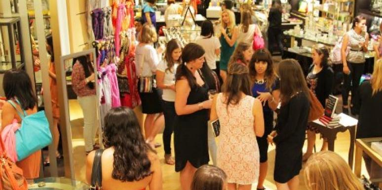 Gaggle Book Party at Henri Bendel