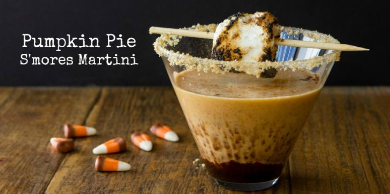 Pumpkin Pie Smores Martini