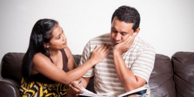 marriage advice: financial debt