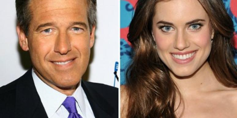 Brian Williams and daughter