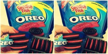 food swedish fish oreos