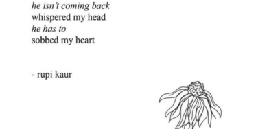 rupi kaur quotes on heartbreak