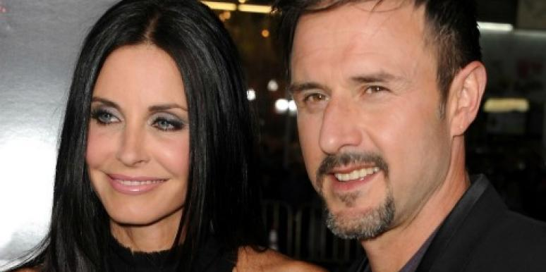David Arquette Says No To Getting Back With Courteney Cox