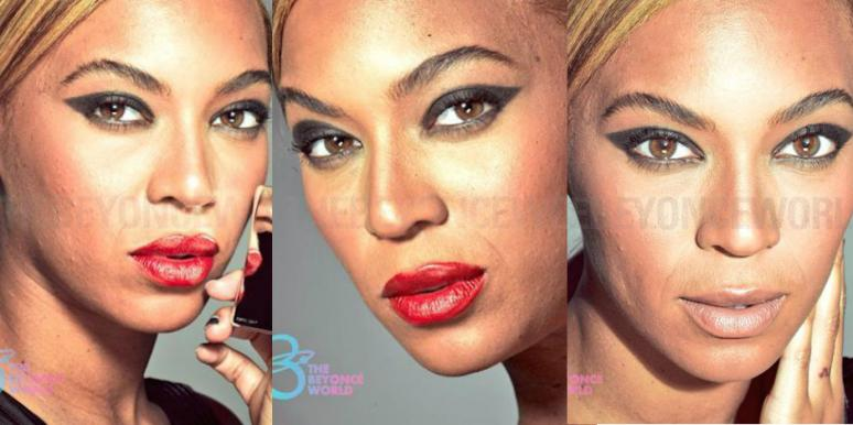 beyonce no photoshop, beyonce without photoshop, beyonce unretouched, beyonce l'oreal