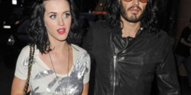 Katy Perry and fiance, Russell Brand