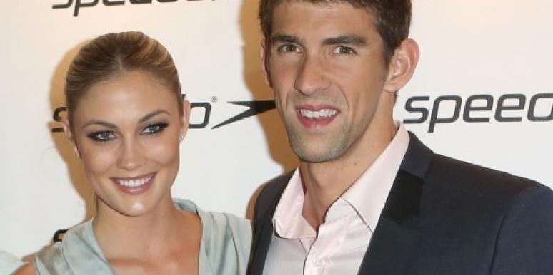 Michael Phelps & Megan Rossee