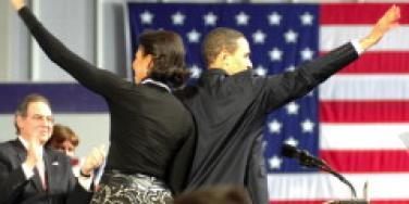 Obama Shouts Out To Michelle