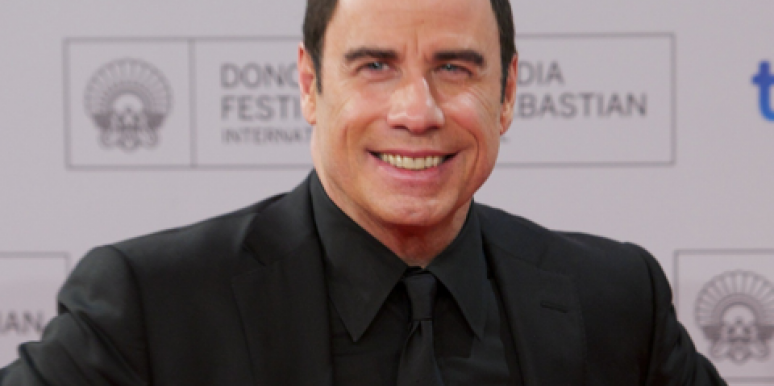 John Travolta: Wedding Crasher?
