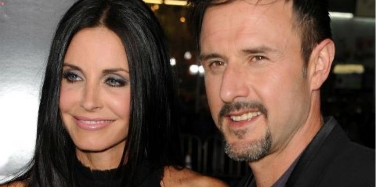 David Arquette Courteney Cox divorce