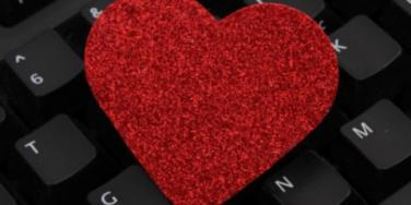 Keyboard heart