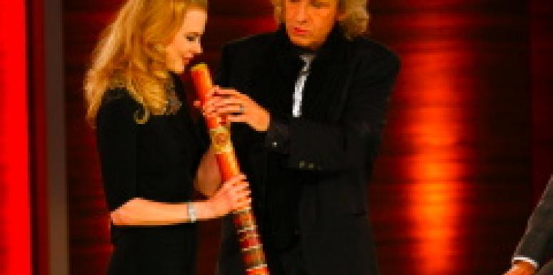 Nicole Kidman and Thomas Gottschalk