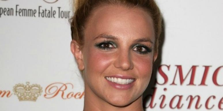 Britney Spears Celebrates Her Engagement & Flaunts Ring In Vegas