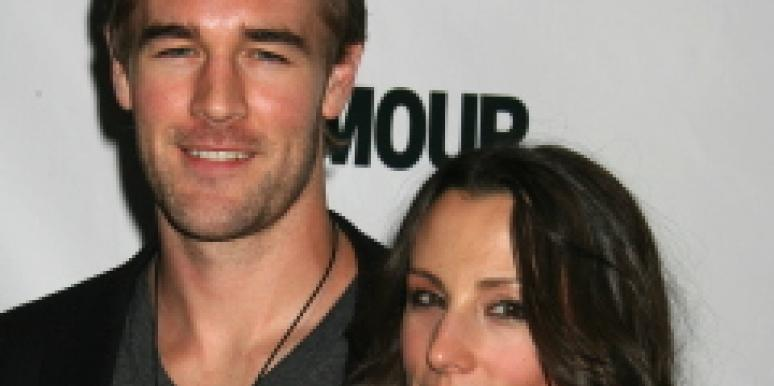 James Van Der Beek and Heather McComb