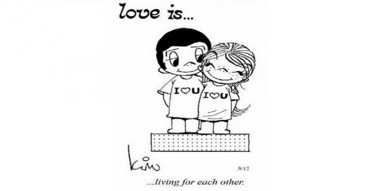 love is comic