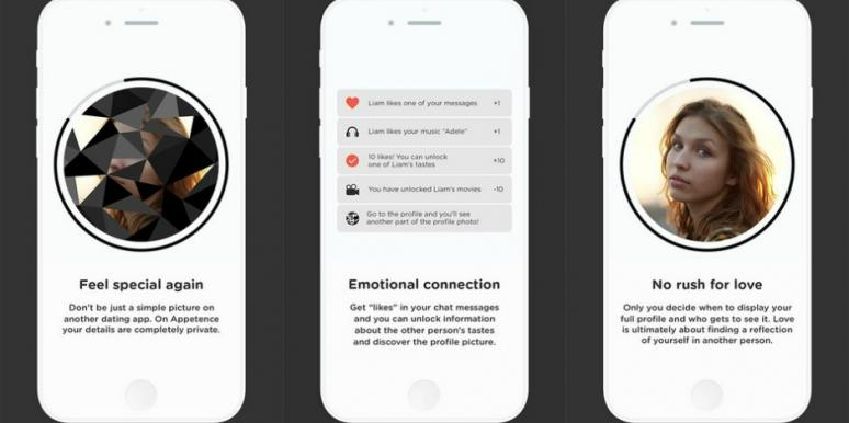 'Slow-Dating' App Appetence Makes Users Talk Before The Can See If There's A Physical Attraction