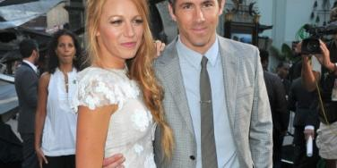 Blake Lively and Ryan Reynolds on the red carpet