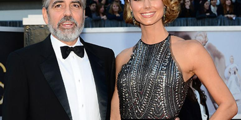 Stacy Keibler & George Clooney