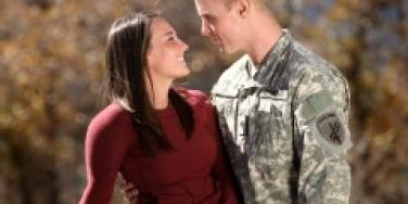 Military couple