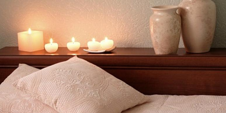 bedroom candles