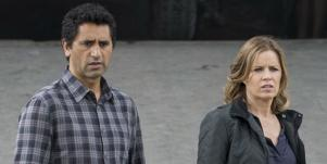 Kim Dickens and Cliff Curtis from Fear the Walking Dead