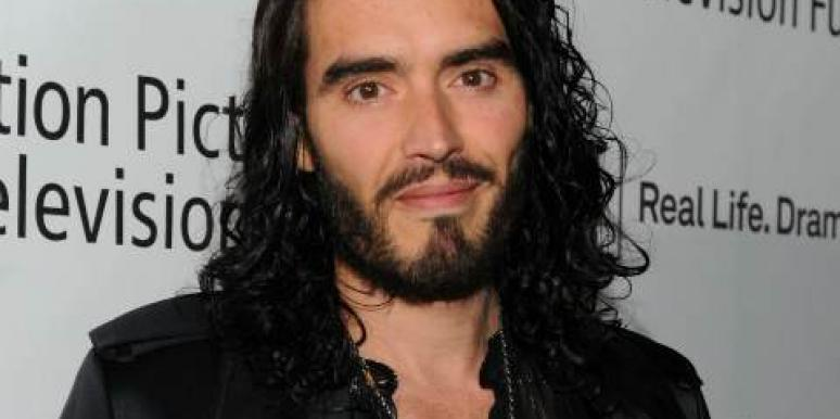 Russell Brand up close