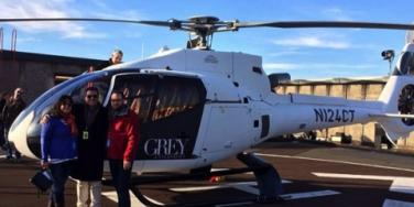 Charlie Tango On The 'Fifty Shades Of Grey' Movie Set