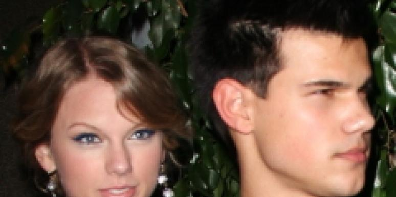Taylor Lautner Taylor Swift