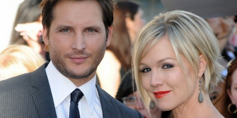 Peter Facinelli and Jennie Garth