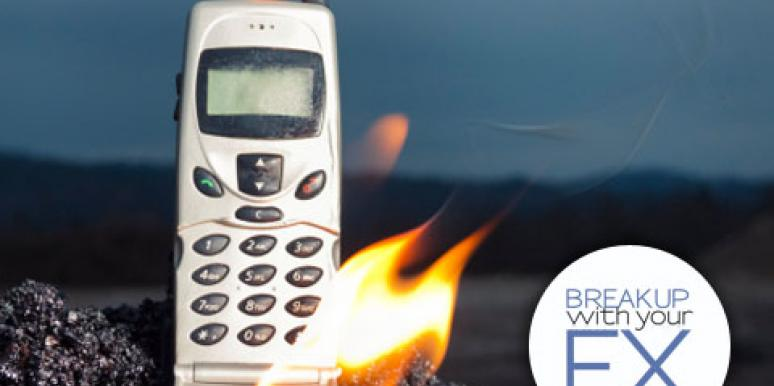 burn your cell phone instead of calling your ex