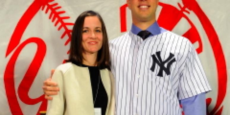 Mark Teixeira and Leigh Teixeira
