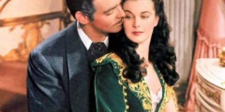 rhett butler scarlett o'hara gone with the wind