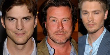 Ashton Kutcher, Dean McDermott, Chad Michael Murray
