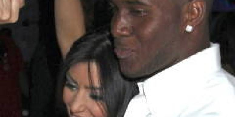 Kim Kardashian Reggie Bush back together