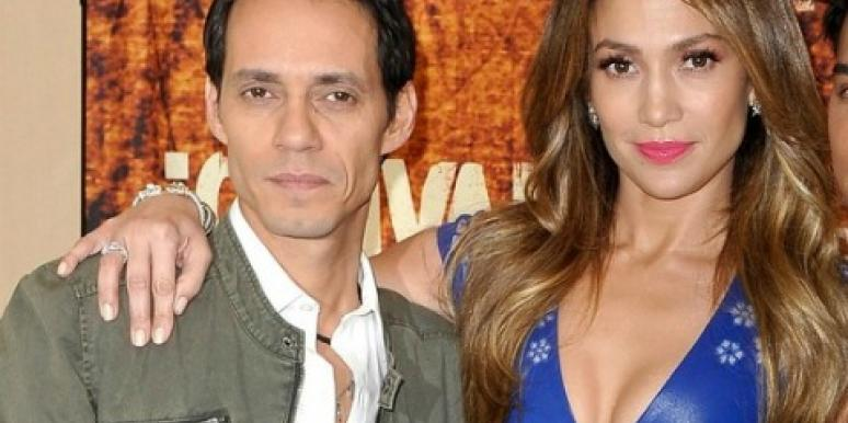 Jennifer Lopez & Marc Anthony Make Nice For Public Appearance
