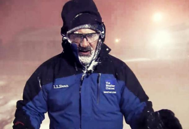 Jim Cantore Thundersnow