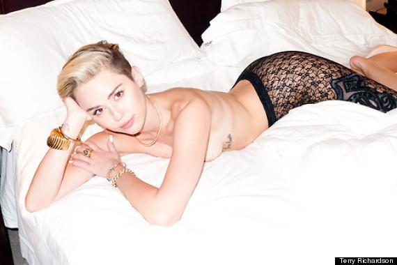 Miley Cyrus naked photo