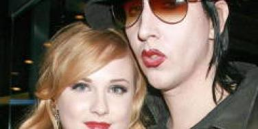 Evan Rachel Wood Marilyn Manson back together