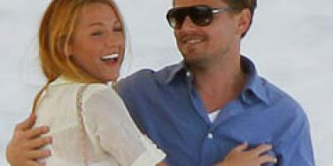 Blake Lively and Leonardo DiCaprio