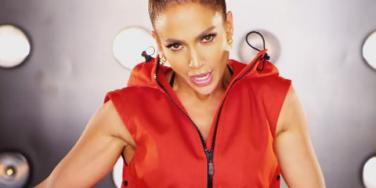 "Jennifer Lopez (J. Lo) in her video for ""I Luh Ya Papi"""