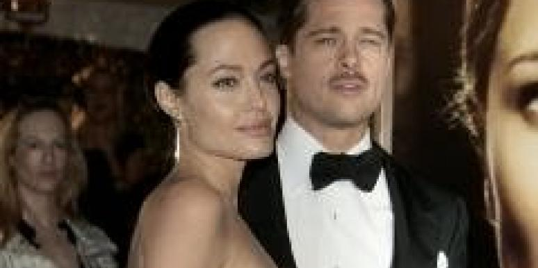 Brad Pitt Gets Behind Angelina